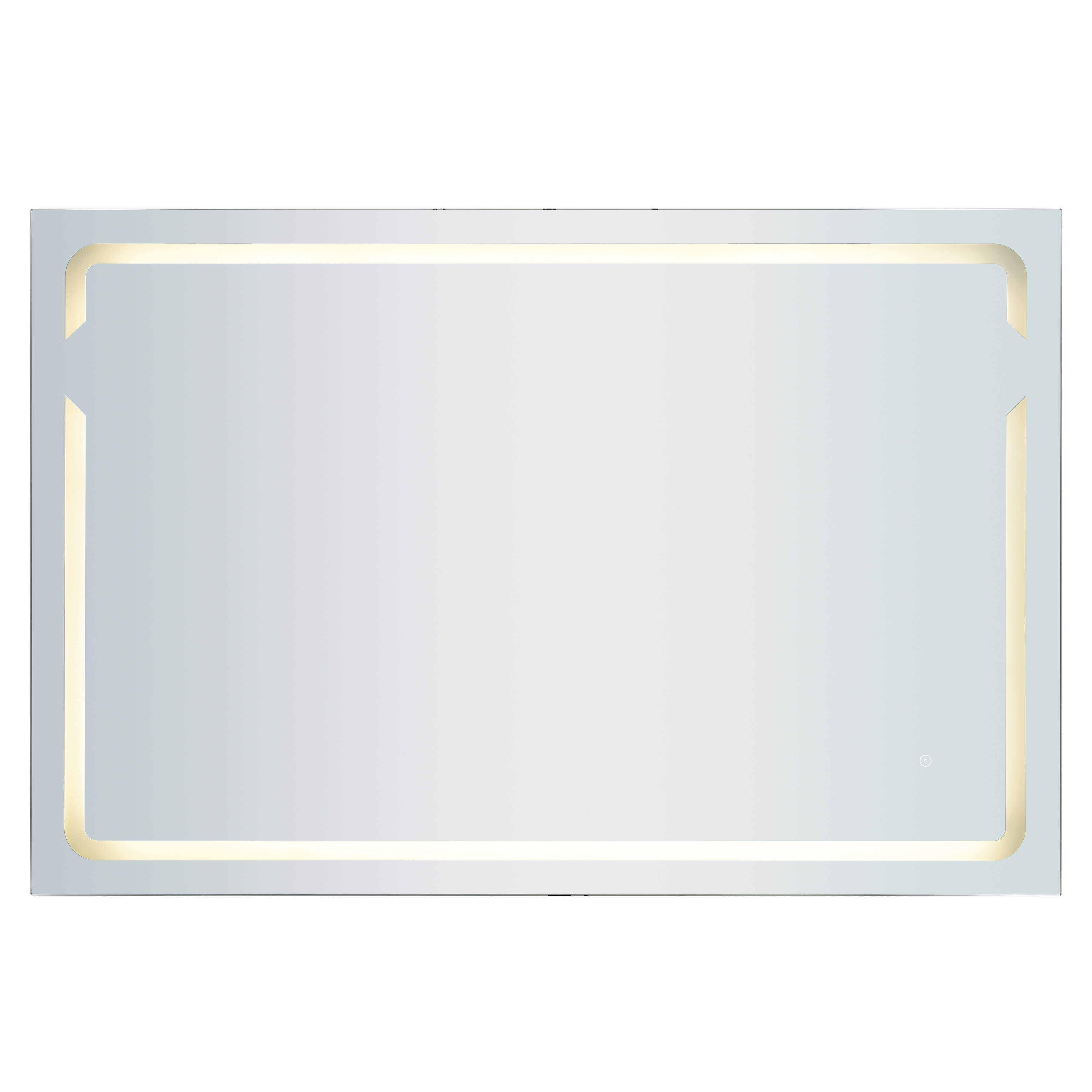 60X40-Inch LED Mirror | Elk Home