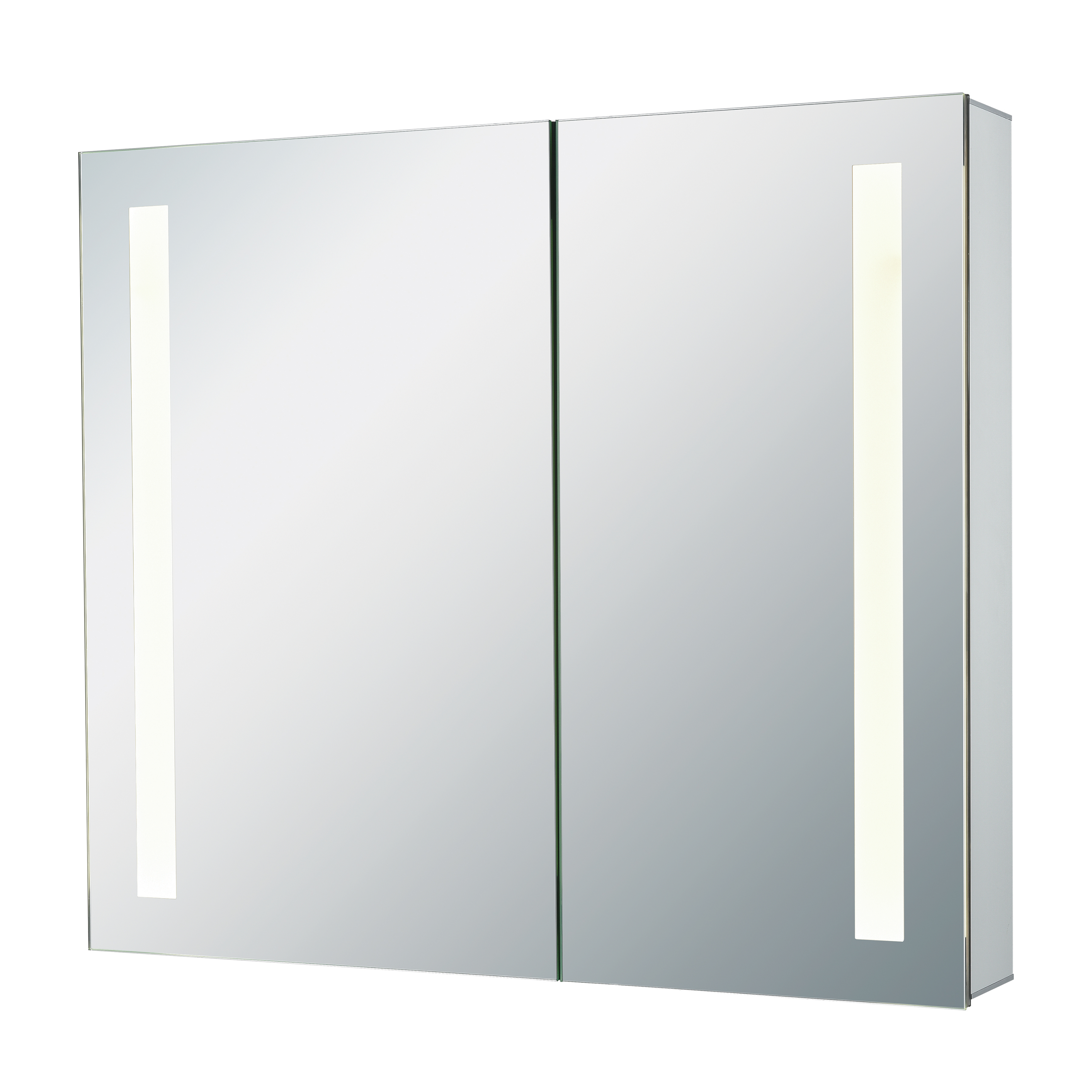 32X27-Inch LED Mirrored Medicine Cabinet | Elk Home