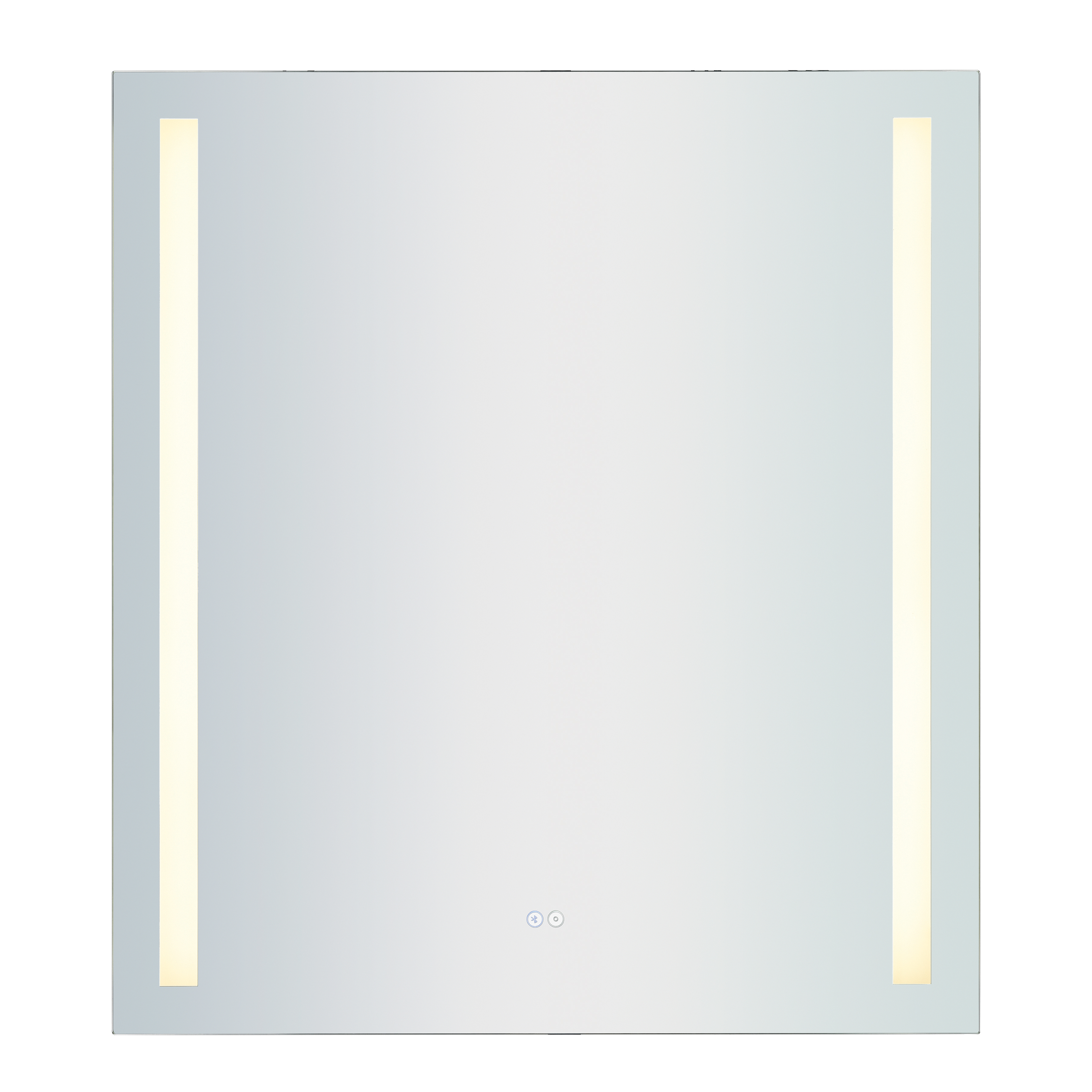36X40-Inch LED Mirror with Bluetooth Speakers | Elk Home