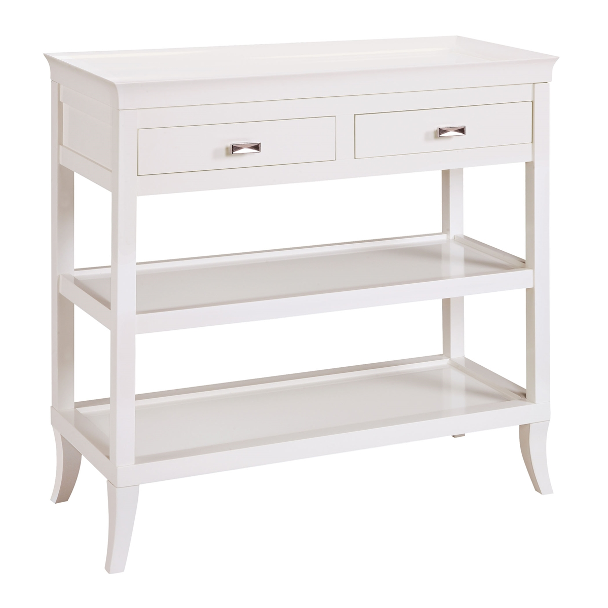 Tamara Hall Table in White 6042716 | ELK Home