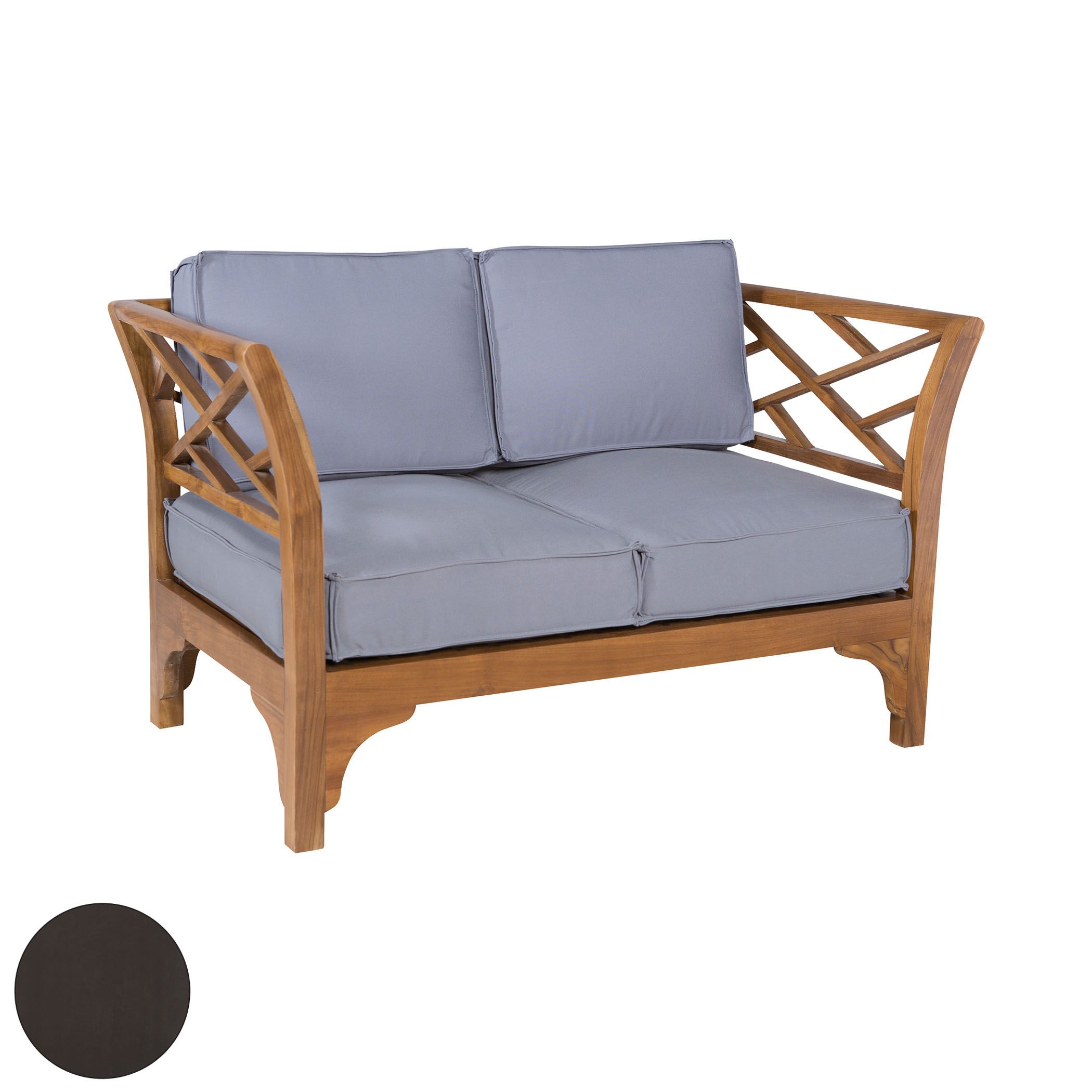 Patio Branch Love Seat 6517504AS | ELK Home