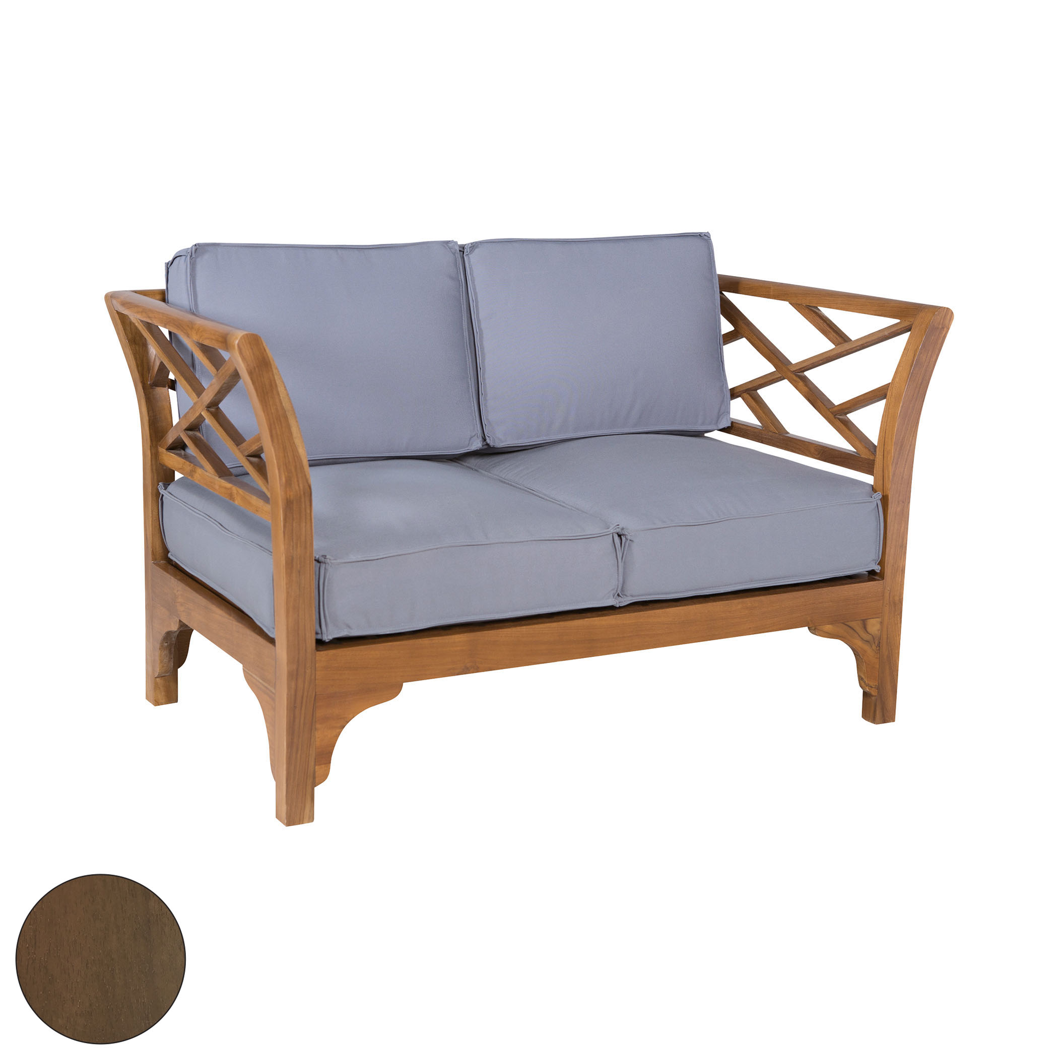 Patio Branch Love Seat 6517504BU | ELK Home