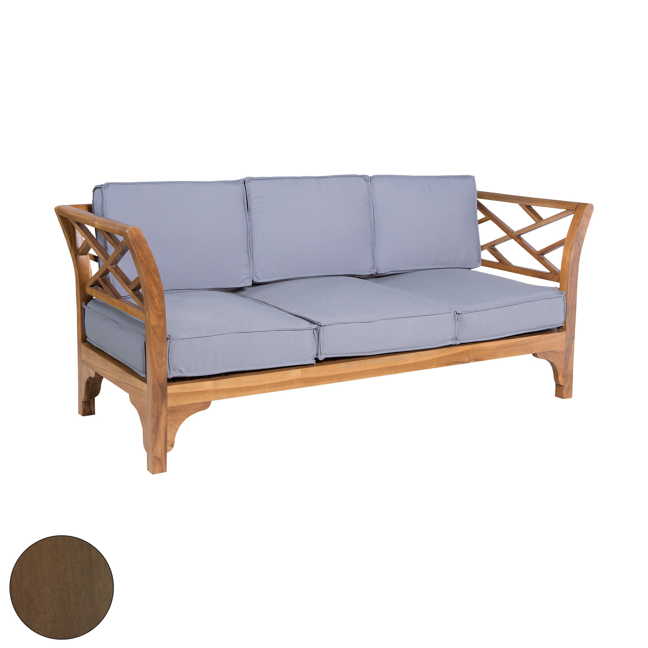 Patio Branch Sofa 6517505BU | ELK Home