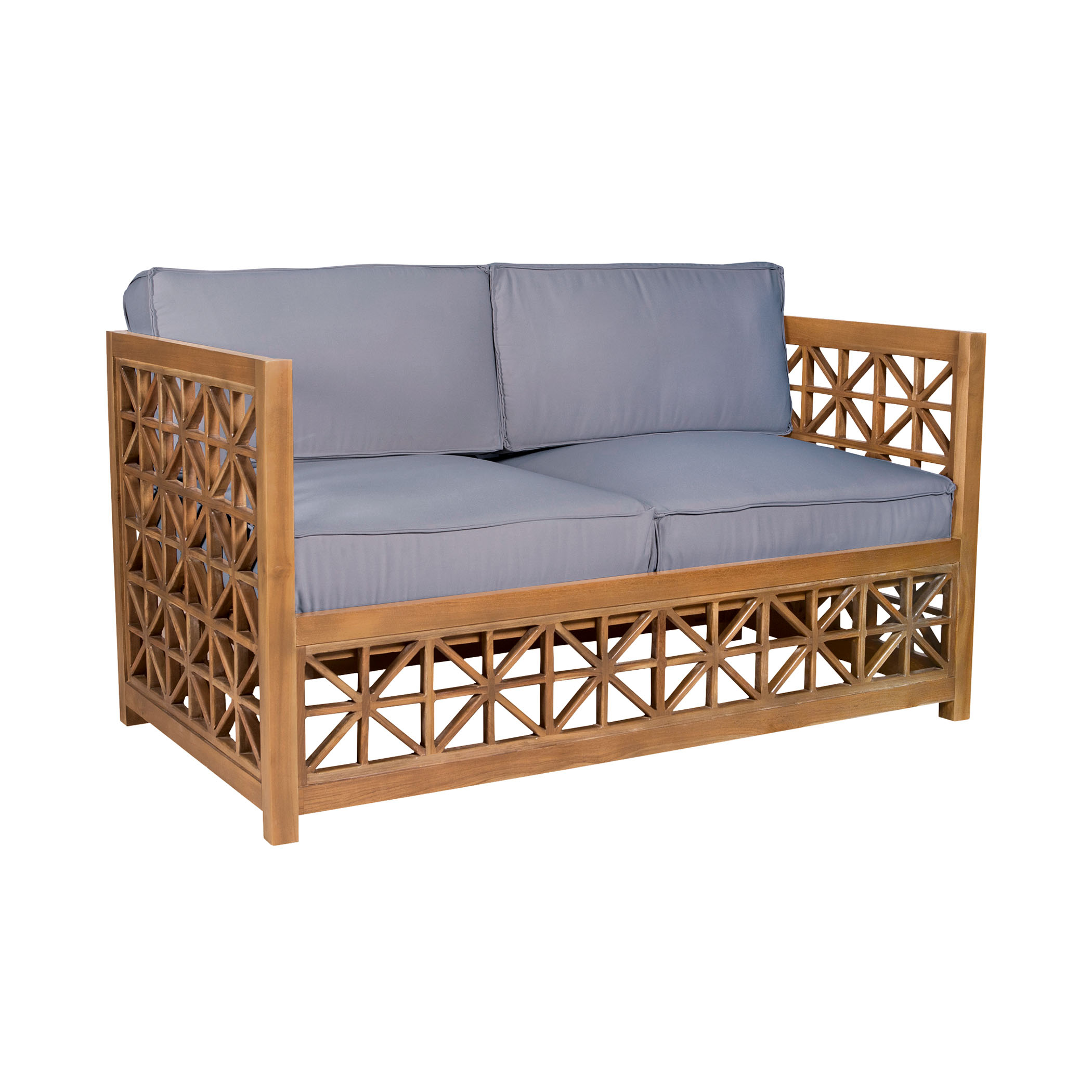 Vincent Lattice Love Seat 6517506ET | ELK Home