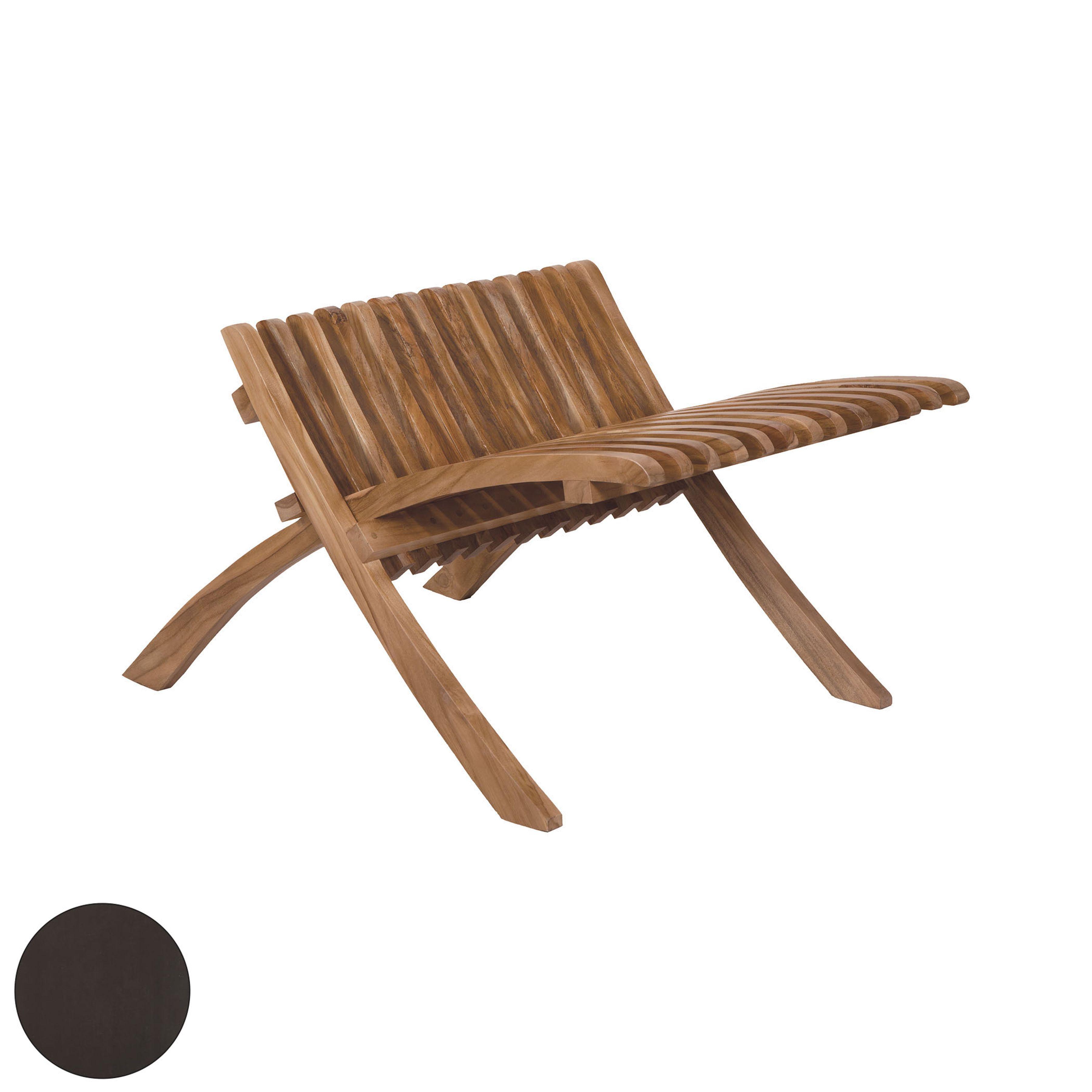 Teak Folding Footrest 6517515AS | ELK Home
