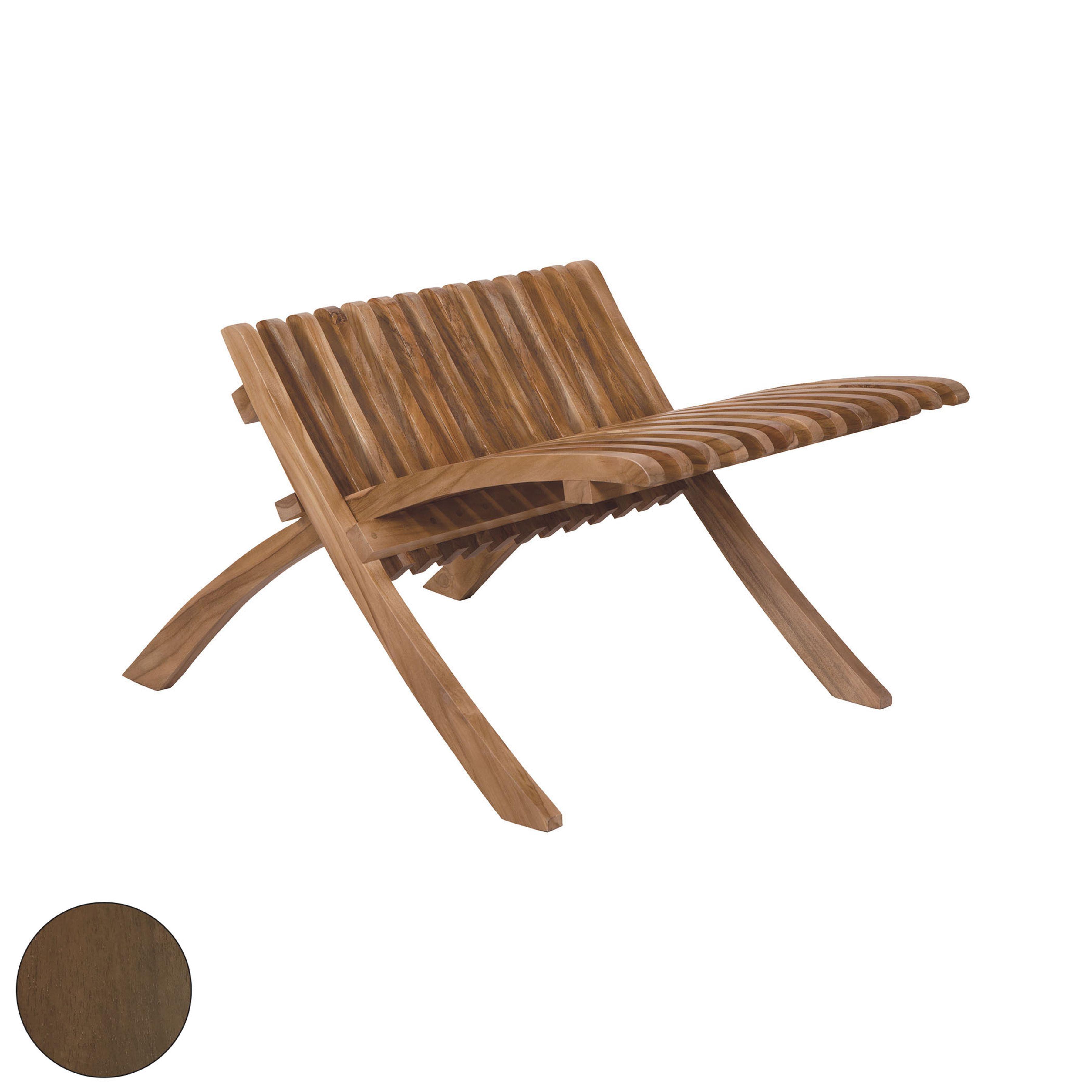 Teak Folding Footrest 6517515BU | ELK Home