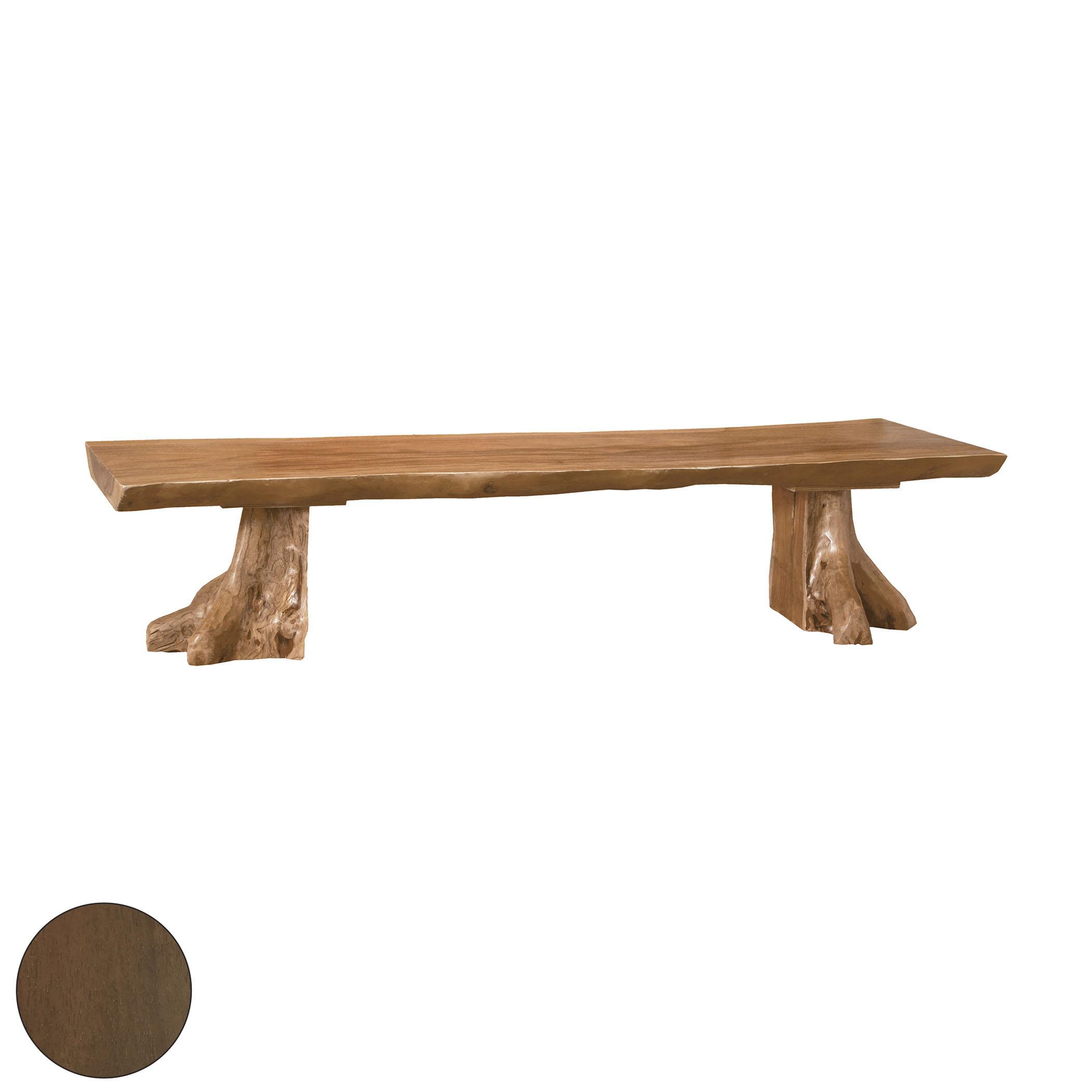 Teak Slab Bench 6517518BU | ELK Home