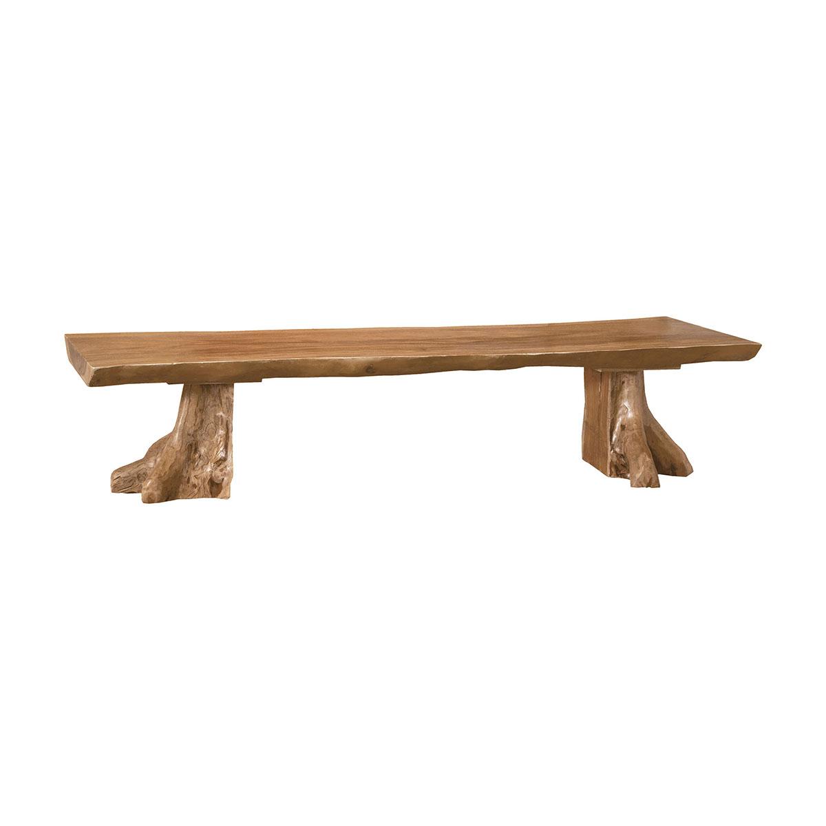 Teak Slab Bench 6517518ET | ELK Home