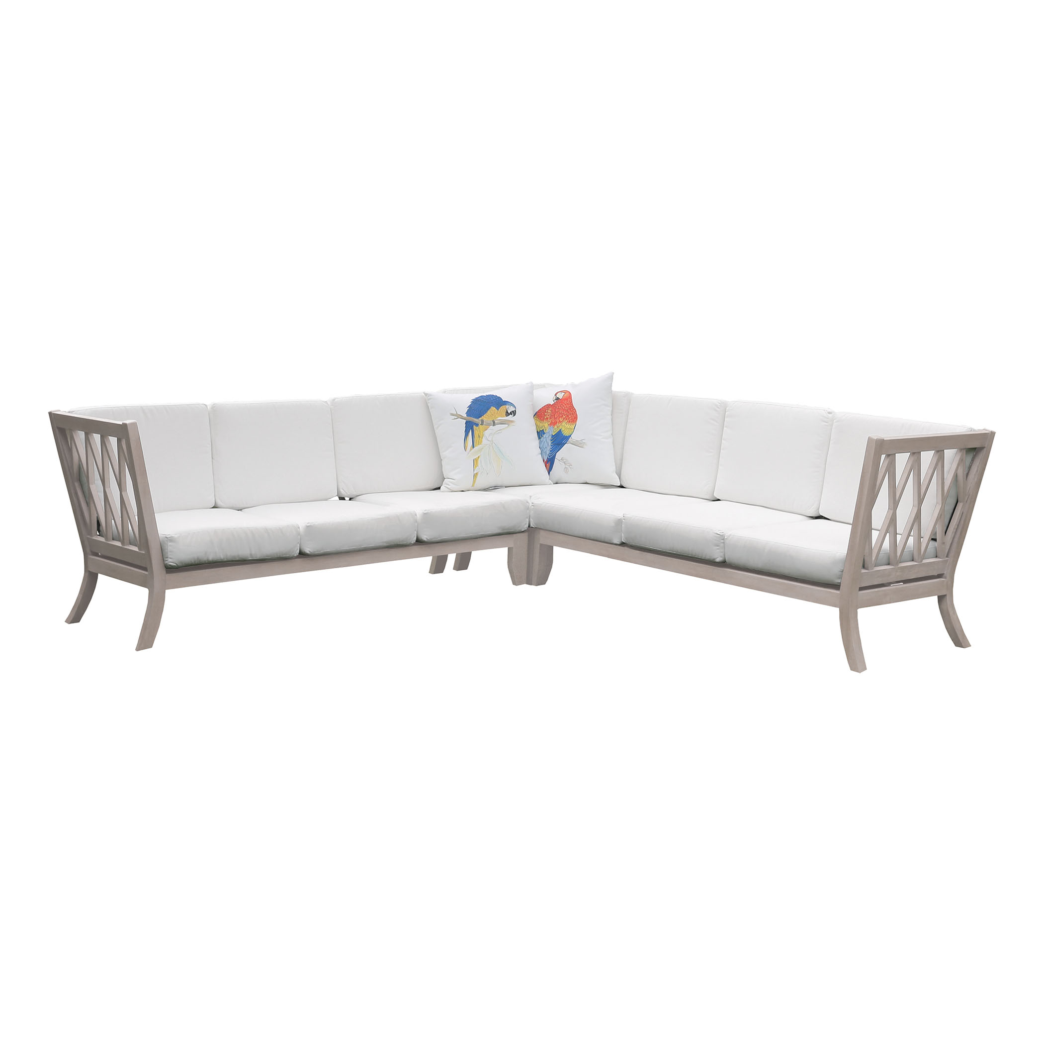 Hilton Outdoor Sectional 6518009S-HT | ELK Home
