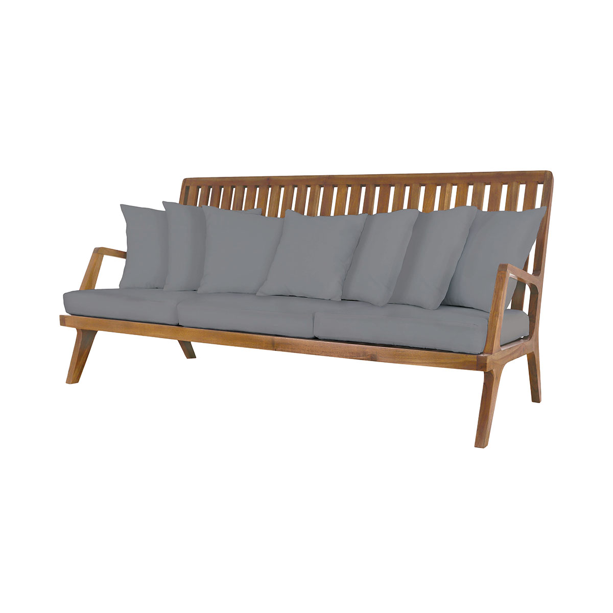 Teak Sofa in Euro Teak Oil 6917012ET | ELK Home