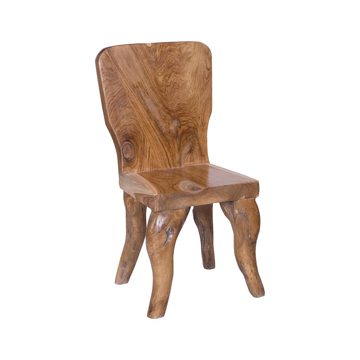 Rustic Teak Outdoor Dining Chair 6917529 | ELK Home