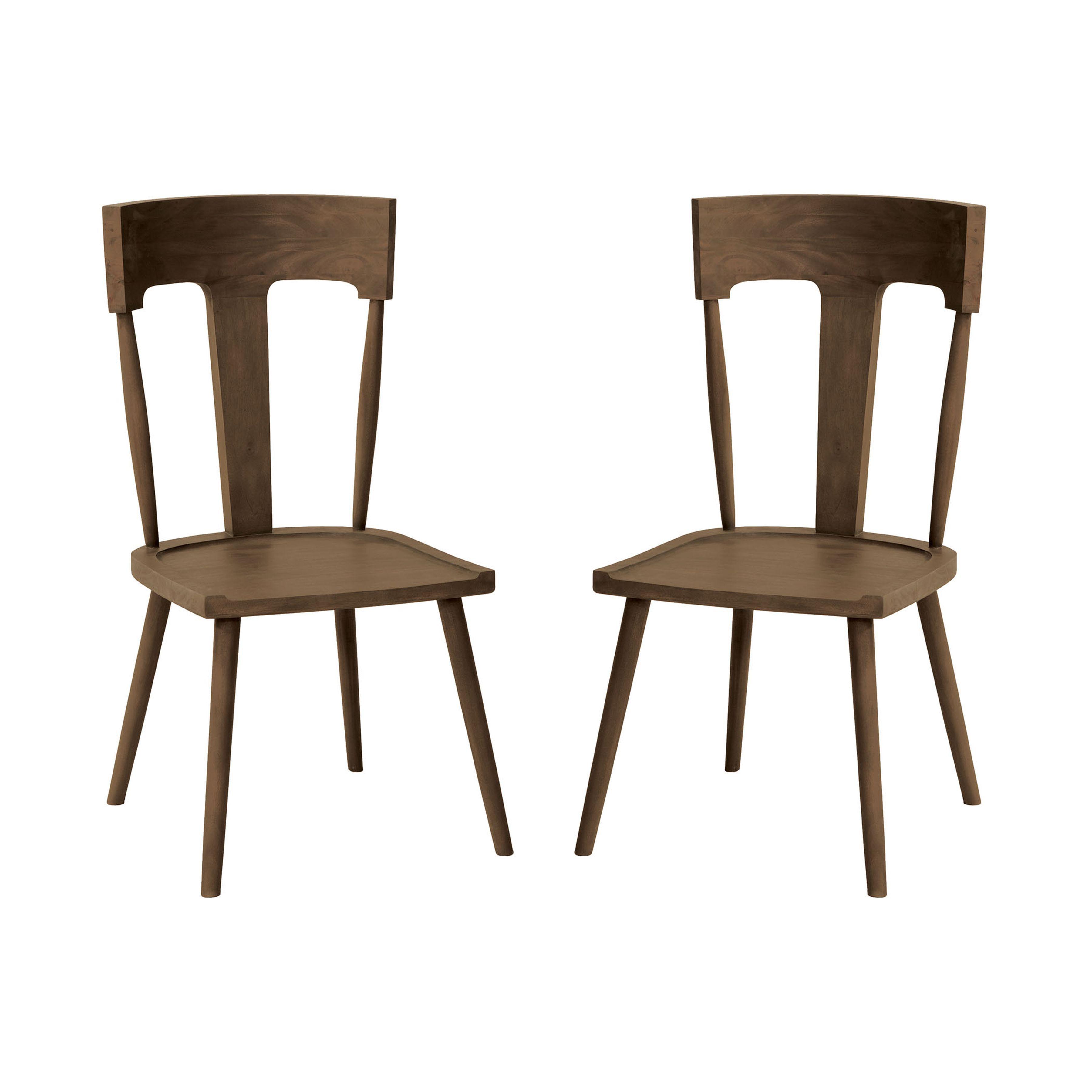 Teak Breakfast Chair Set of 2 6917533P-BU | ELK Home