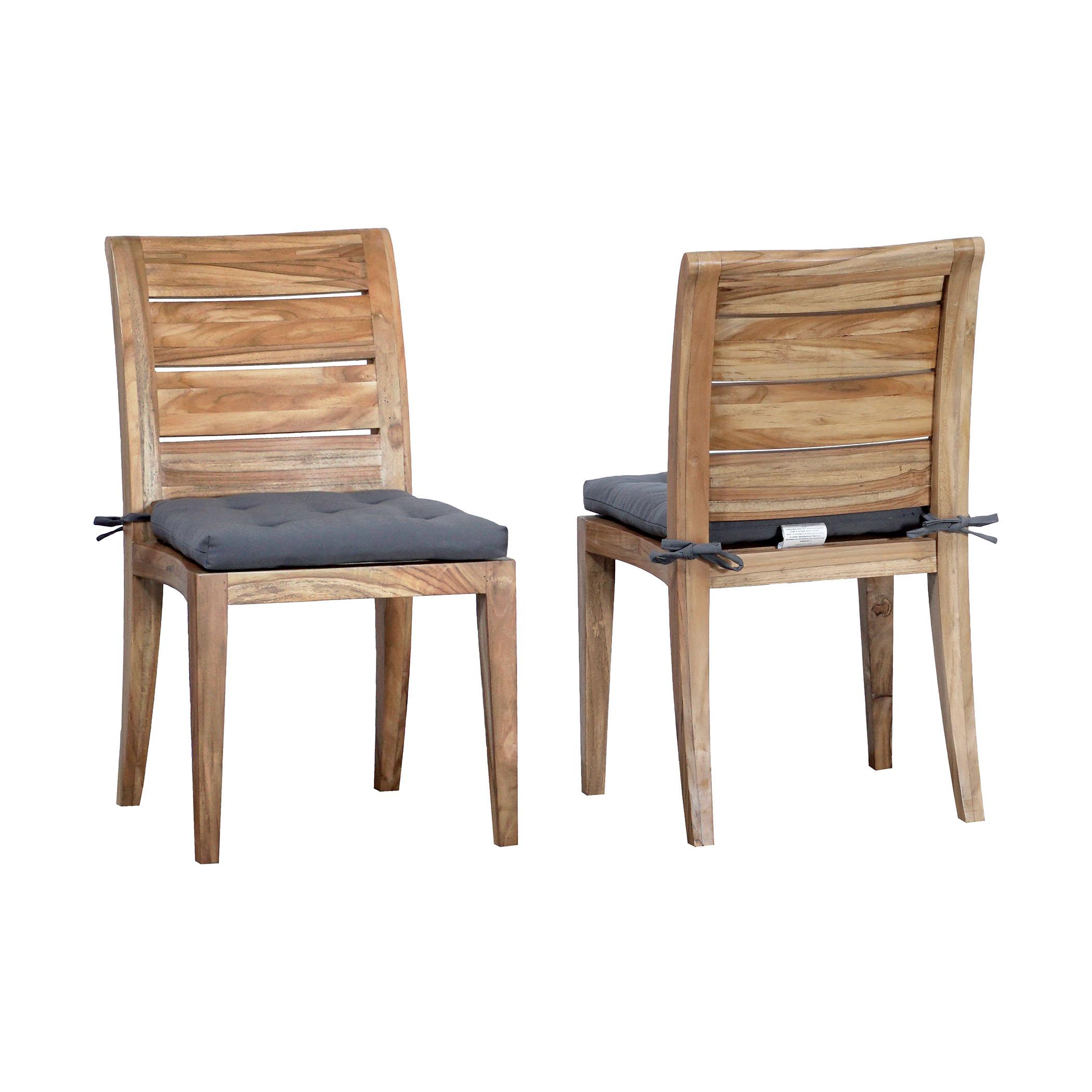 Teak Club Side Chair Set of 2 6918504P | ELK Home