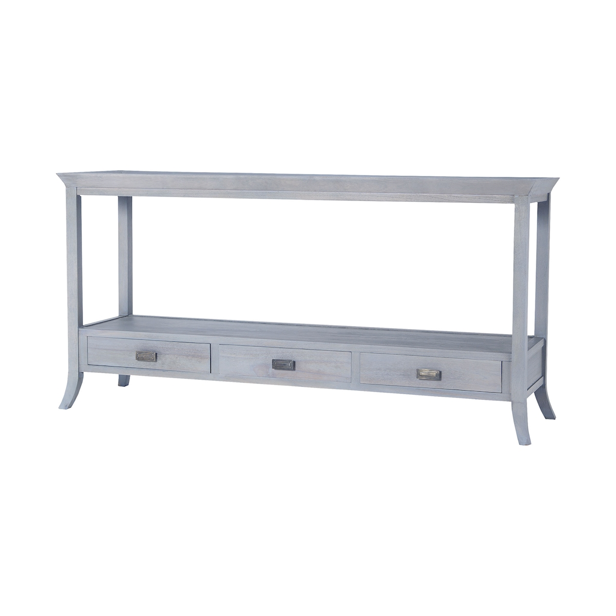 Tamara Sofa Console in Gravesend Grey 7011-310 | ELK Home
