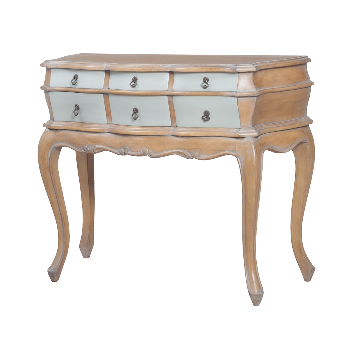 Sullivan Console in Artisan Stain And Whitewash 7115555 | ELK Home