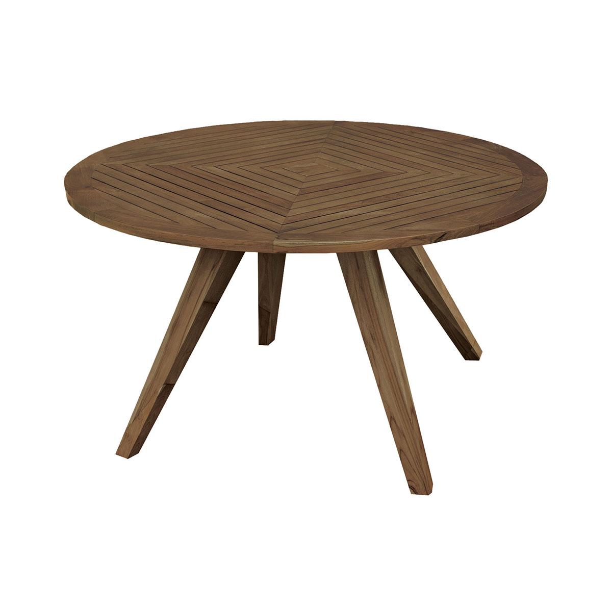 Round Teak Patio Table 7117517BU   ELK Home