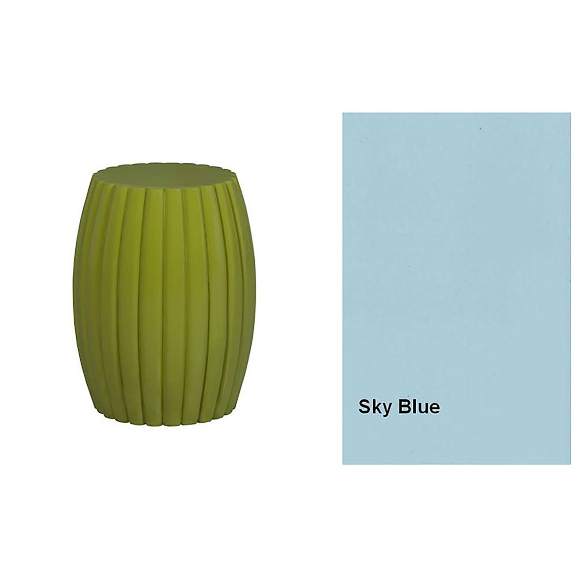 Grooved Drum Stool/Table A24712822-SK | ELK Home