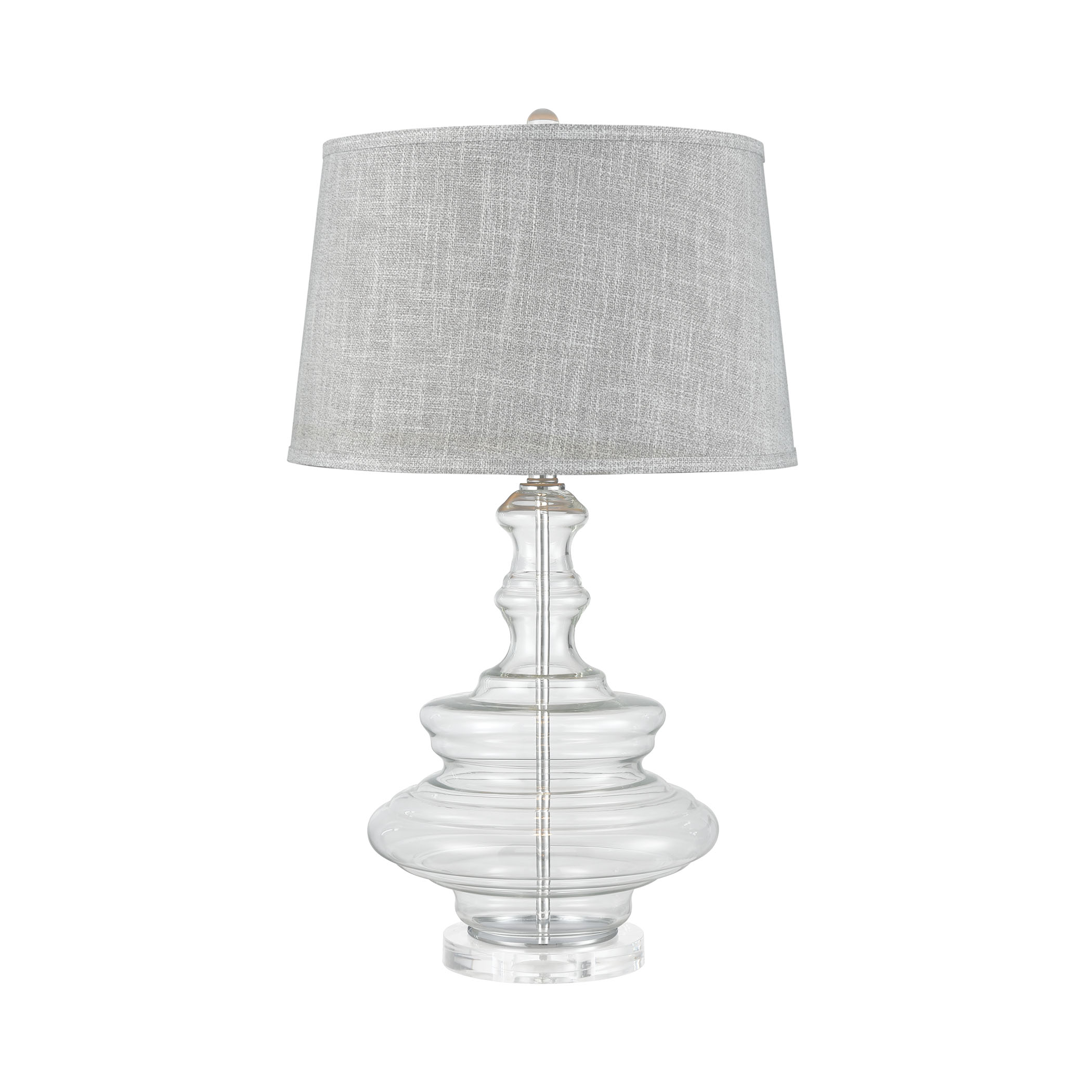 Elk Modern Upwell Current Table Lamp With White Finish D3904